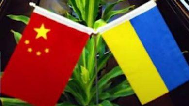 صورة الرئيس الأوكراني يشكر نظيره الصيني على اللقاح الواقي من كورونا
