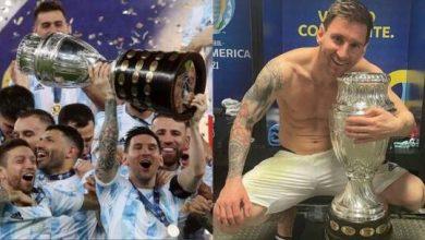 """صورة صورة ميسي محتضنا كأس """"كوبا أمريكا"""" تحطم الأرقام القياسية في """"إنستغرام"""""""