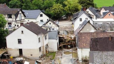 صورة نحو 1300 شخص في عداد المفقودين جراء الفيضانات في ألمانيا