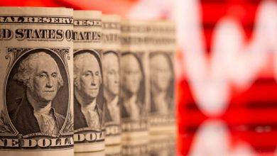 صورة الذهب في المنطقة الحمراء مع ارتفاع الدولار