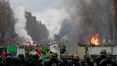 صورة فرنسا.. احتجاجات ضد إجراءات أعلنها ماكرون بشأن الشهادة الصحية والتطعيم الإجباري لبعض القطاعات