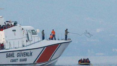 صورة خفر السواحل التركي يحتجز أكثر من 200 مهاجر أغلبهم أفغان كانوا في طريقهم لإيطاليا