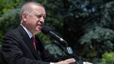 """صورة أردوغان يتحدث عن ضم تركيا للواء اسكندرون """"هطاي"""""""