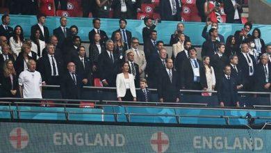 """صورة رد فعل الأمير البريطاني وليام وزوجته كاثرين على هزيمة إنجلترا في نهائي """"يورو 2020"""""""