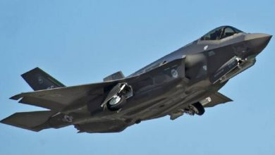صورة تعليق استخدام 15% من مقاتلات F-35 الأمريكية على خلفية مشاكل في محركاتها