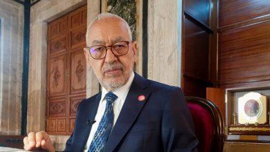 صورة إصابة رئيس البرلمان التونسي ورئيس حزب النهضة الغنوشي بفيروس كورونا