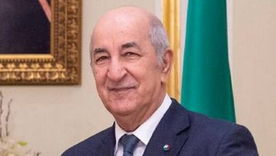 صورة تبون يستقبل رئيس المجلس الرئاسي الليبي