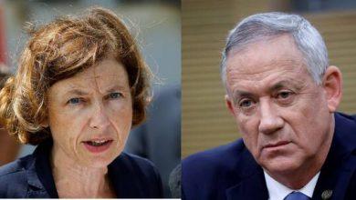 صورة غانتس لوزيرة الدفاع الفرنسية: إسرائيل تأخذ الاتهامات ضد NSO على محمل الجد