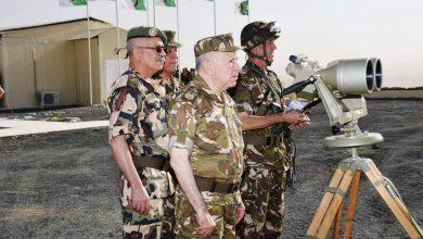 صورة اليوم الثاني من زيارة السيد الفريق السعيد شنڨريحة رئيس أركان الجيش الوطني الشعبي إلى الناحية العسكرية الرابعة بورقلة