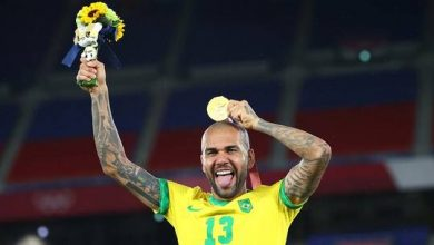 صورة ألفيس يعزز رقمه القياسي في أولمبياد طوكيو