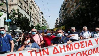صورة اليونان.. اشتباكات بين الشرطة ومحتجين مناهضين لإلزامية لقاحات كورونا