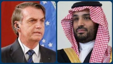صورة ولي العهد السعودي يطمئن على صحة الرئيس البرازيلي