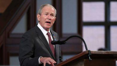 صورة مواقع التواصل الاجتماعي تضج بفيديو لجورج بوش قبل 20 عاما: حكم طالبان وصل لنهايته