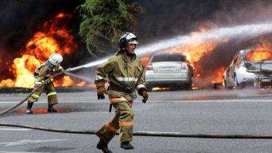صورة عدد ضحايا الانفجارات بمستودع ذخيرة في كازاخستان يبلغ 12 قتيلا
