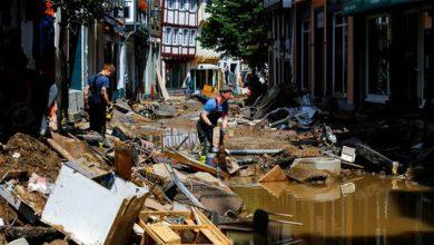 """صورة القضاء الألماني بصدد التحقيق في """"فشل محتمل"""" للتحذير من الفيضانات"""