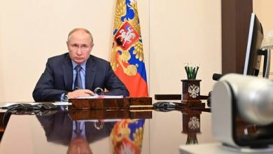 صورة الكرملين: بوتين سيشارك في مؤتمر دولي حول تعزيز الأمن البحري
