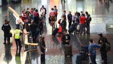 صورة إغلاق مطار فيينا بعد بلاغ عن وجود متفجرات