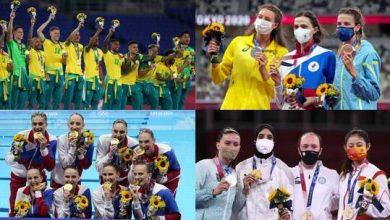"""صورة حصيلة ميداليات أولمبياد """"طوكيو 2020"""" بعد منافسات يوم السبت.. تألق عربي"""