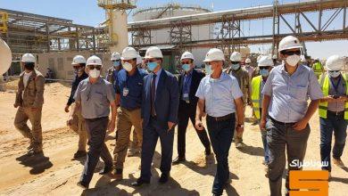 صورة سوناطراك: توفيق حكار في زيارة تفقدية لمتابعة إنجاز المشاريع الهيكلية لحقول إيزاران