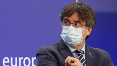 صورة اعتقال رئيس حكومة كتالونيا الانفصالي السابق بوتشديمون في إيطاليا