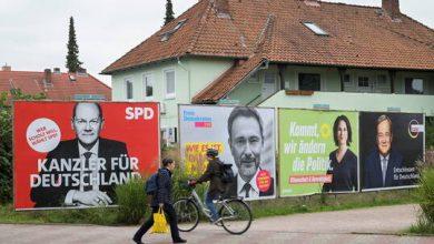"""صورة قناة ألمانية تنشر """"نتائج استطلاع exit poll"""" قبل يومين من الانتخابات"""