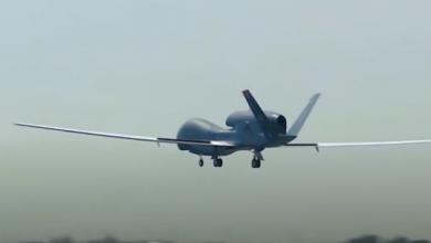 صورة طائرة أمريكية بدون طيار تنفذ مهمة استطلاع قرب أجواء روسيا وبيلاروس