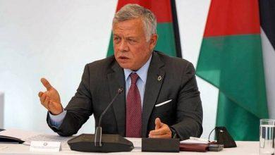 صورة ملك الأردن: لا يمكن للمنطقة أن تنعم بالأمن دون حل شامل للقضية الفلسطينية