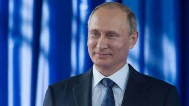 صورة بوتين يحقق حلم الطفولة