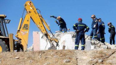 صورة قتيل و9 جرحى بزلزال جزيرة كريت اليونانية