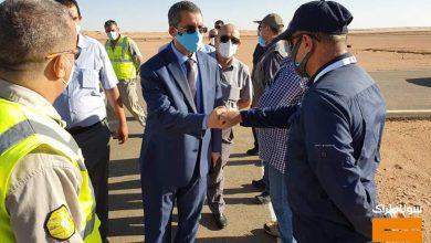 صورة سوناطراك: توفيق حكار يقوم بزيارة تفقدية إلى حقول إيزاران/أوهانت لمتابعة إنجاز المشاريع الهيكلية للشركة