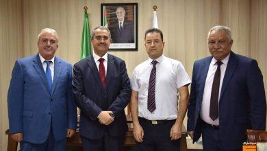 صورة توفيق حكار يُنصِّب مراد منور رئيس مدير عام لشركة نفطال