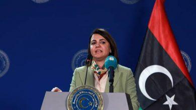 """صورة المنقوش معلنة عن مبادرة """"استقرار ليبيا"""": تهدف لاحترام سيادة واستقلال ليبيا ومنع التدخلات الخارجية"""