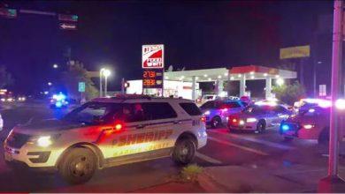صورة مقتل ضابط أمن الشرطة جراء اعتداء مسلح في ولاية تكساس الأمريكية