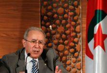صورة رمطان لعمامرة: المغرب وصل إلى حد الاستقواء بإسرائيل