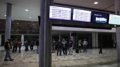 صورة إصابات جراء إطلاق نار في مطار مكسيكو سيتي