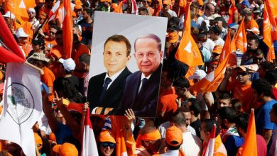 """صورة حزب """"القوات اللبنانية"""" يرد بشكل """"عنيف"""" على جبران باسيل ويهاجم الرئيس عون"""