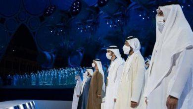 """صورة محمد بن زايد: حفل افتتاح """"إكسبو 2020 دبي"""" يدعو للفخر"""