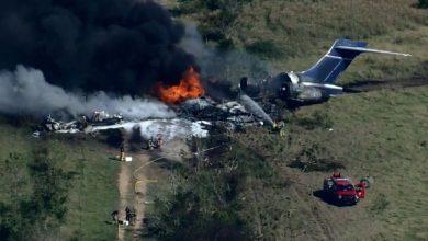 صورة الولايات المتحدة.. تحطم طائرة مدنية خلال الإقلاع